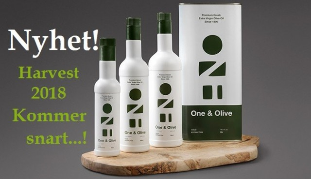 Extra virgin olive oil «One & Olive», from Messinia